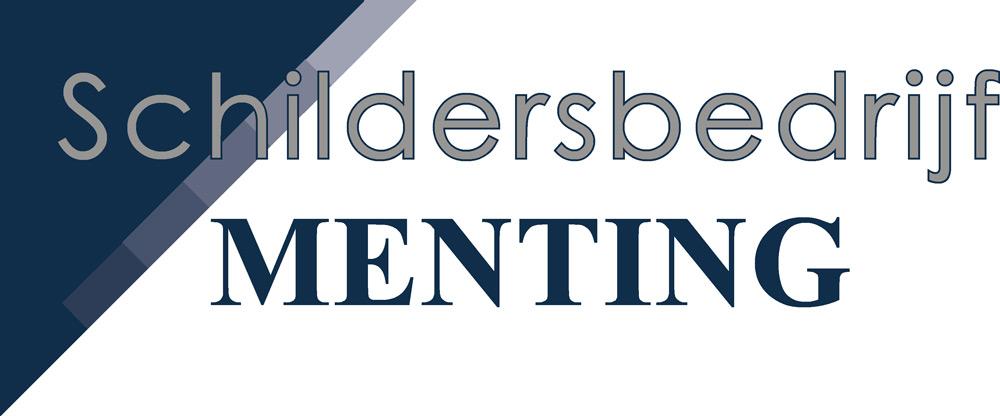 Het logo van schildersbedrijf Menting